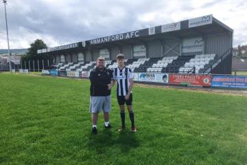 Ammanford announce signing of new young winger