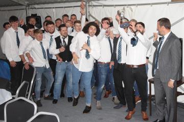Ammanford BaaBaas celebrate season