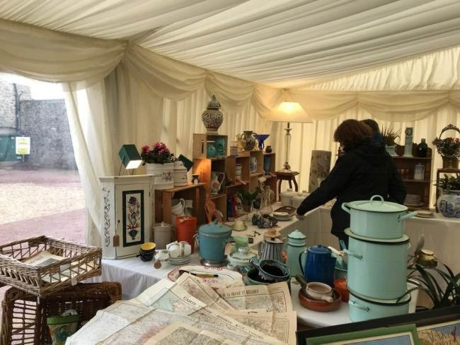 The National Botanic Garden of Wales Antiques Fair and Vintage Market is being held on July 6 and 7.