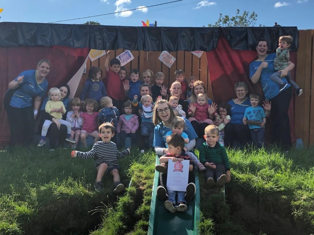 Parents rate Meithrinfa Twts Tywi Nursery as one of Top 20 nurseries in Wales