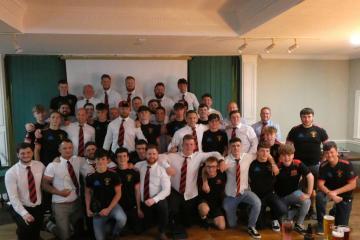 Llandybie RFC hold end of season awards