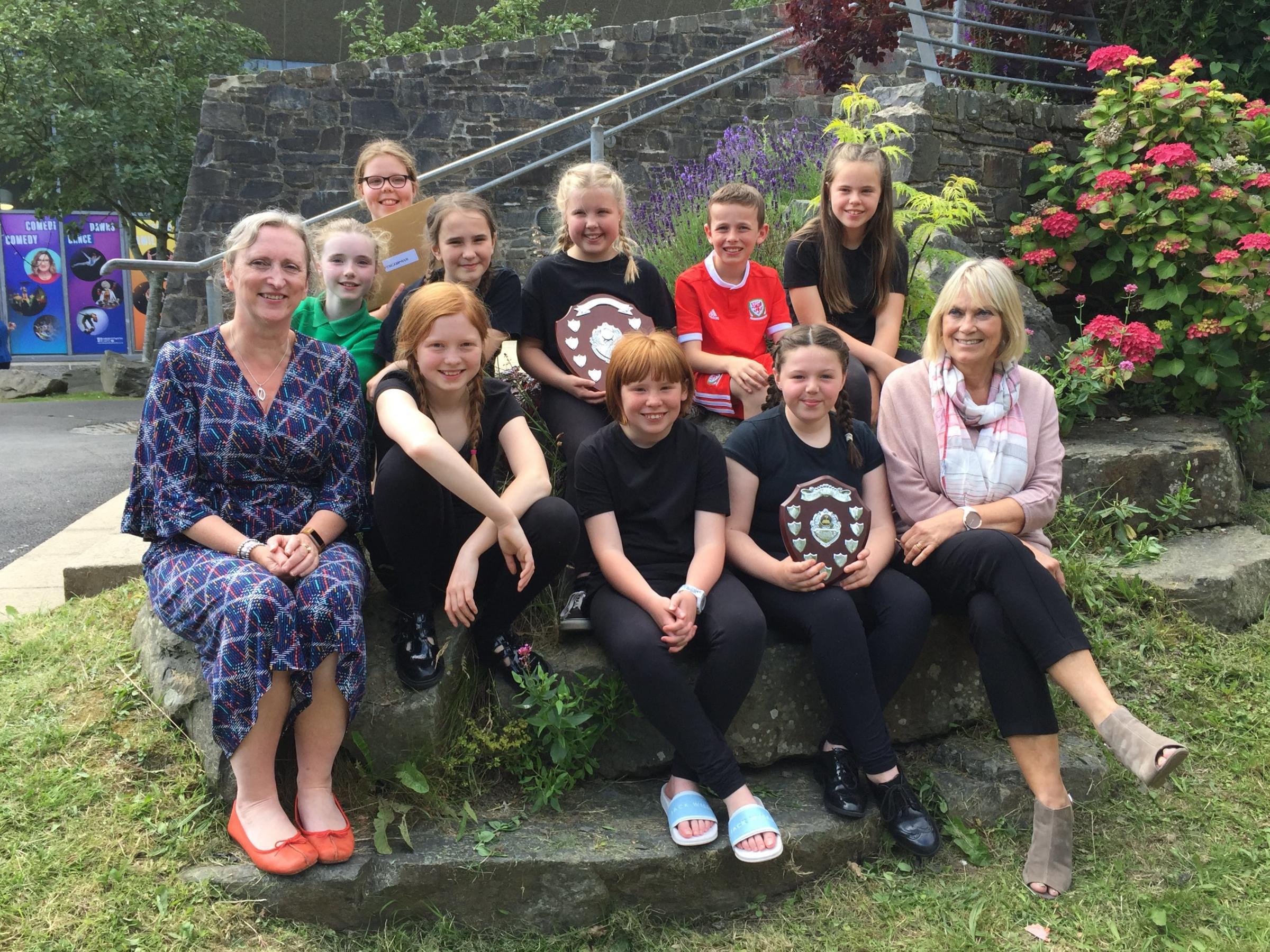 Reading success for Ysgol Gymraeg Rhydaman pupils