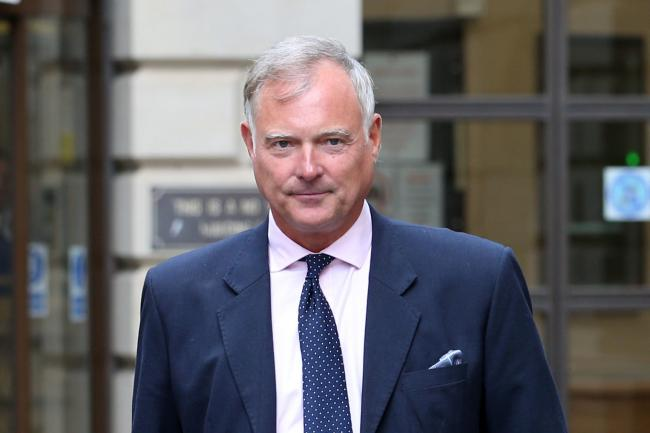 Former TV presenter John Leslie (Jane Barlow/PA)