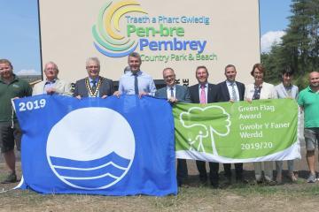 Prestigious Green Flag awarded to Pembrey Country Park