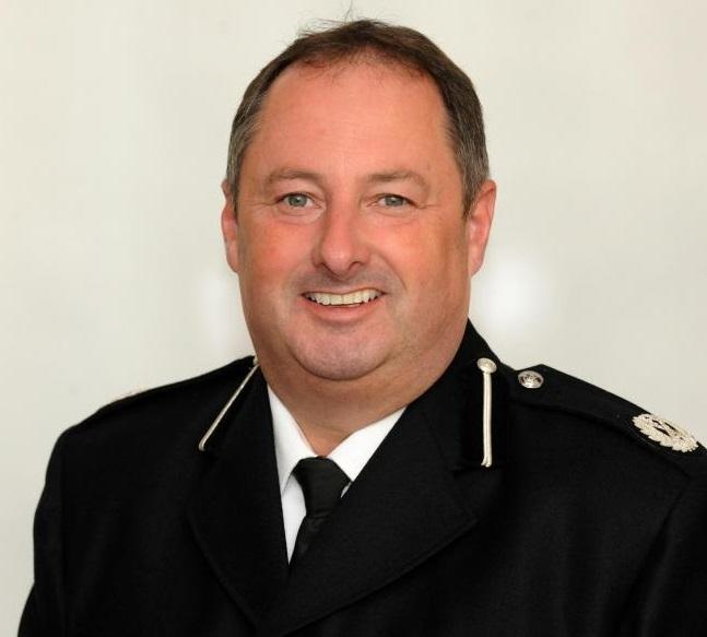 Dyed-Powys Police Chief Constable Mark Collins