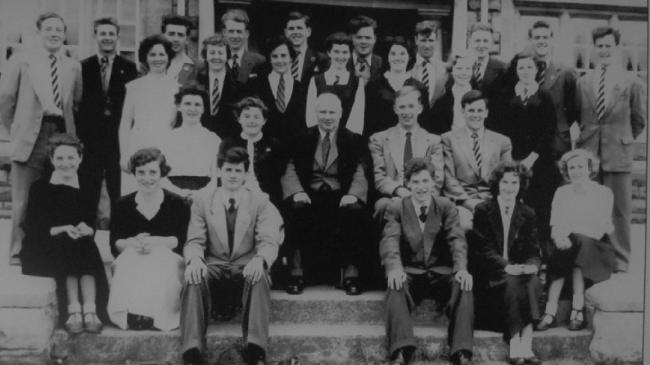 Pupils of Ammanford Grammar School 1955-56