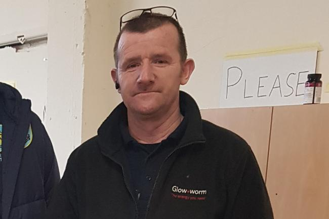 Plumber helps vulnerable for free