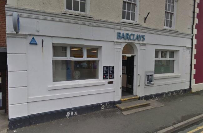 Barclays in Llandovery was the latest to announce it would close its doors