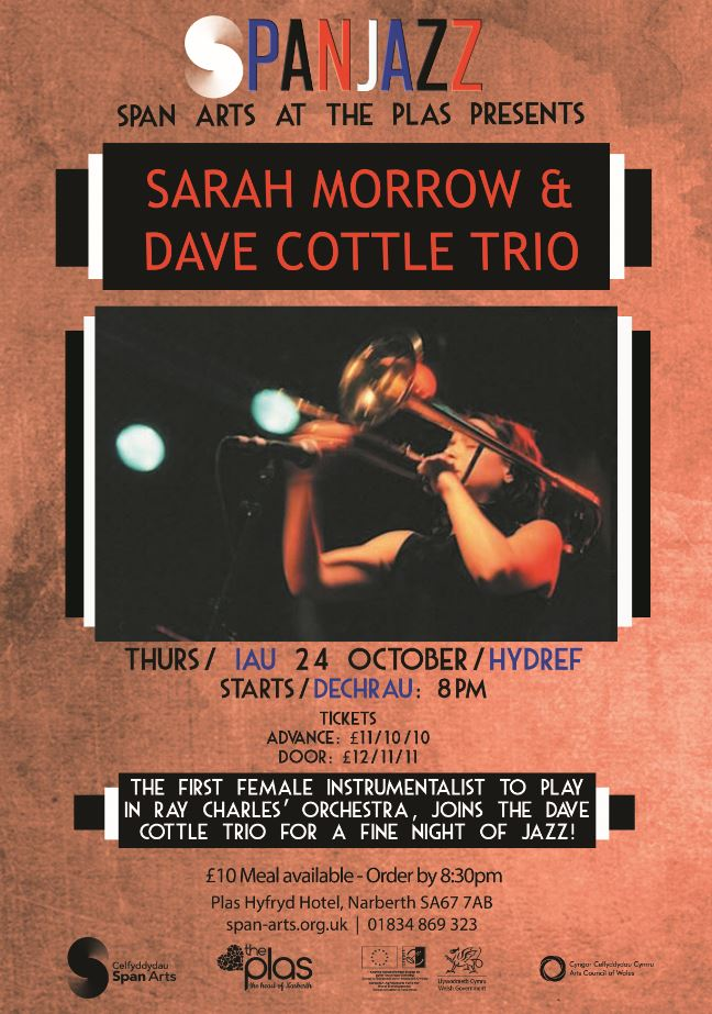 Span Jazz: Sarah Morrow with Dave Cottle Trio