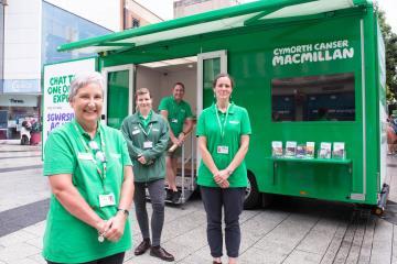 Macmillan advice bus to visit Ammanford next week