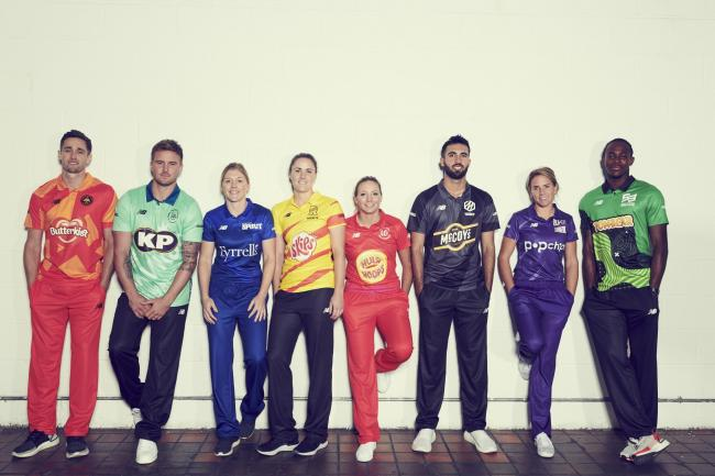 The Hundred teams and players revealed