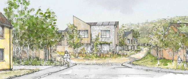 Pontardawe eco-development plan is submitted | South Wales ... on off-grid home plans, heritage home plans, zero energy home plans, net zero home plans, sustainable home plans,