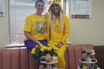 Ammanford dental practice shows support for Hannah at Children in Need fundraiser
