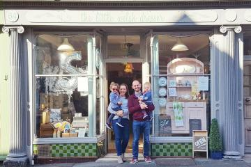 Llandeilo Welsh gift shop celebrates birthday with small business accolade