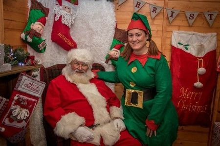 Visit Father Christmas at St Tydfil Shopping Centre's free grotto
