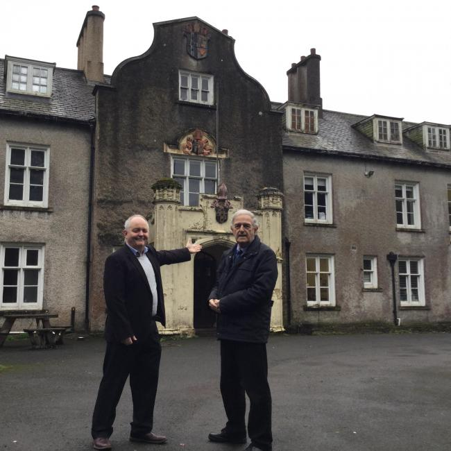 Restoration works begin at Carmarthenshire Museum