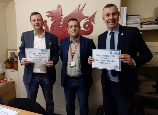 Adam Price and Jonathan Edwards have become Dementia Friends