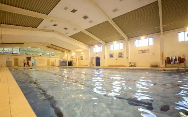 Ammanford leisure centre swimming pool