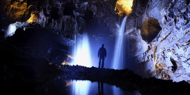 The National Showcaves for Wales. Pic: Dan yr Ogof
