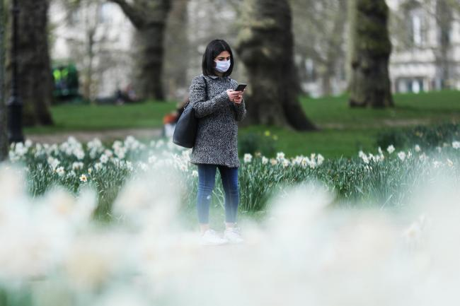 Coronavirus: Are social distancing measures slowing down the pandemic in the UK?. Picture: PA Wire