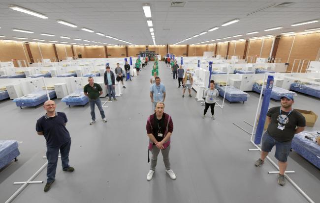 Volunteers step up to furnish Coronavirus field hospitals | South ...