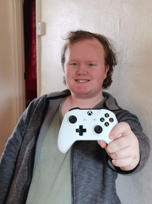 Connor Strange, who will be hosting a live-stream gaming marathon