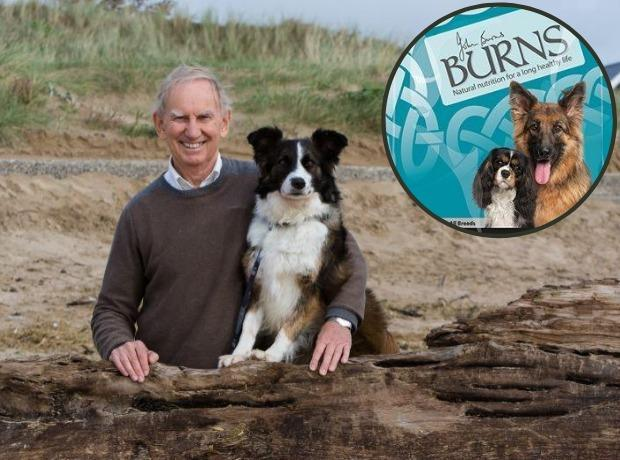 John Burns, founder of Burns Pet Nutrition