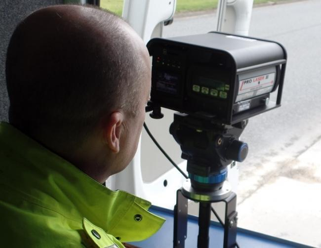 Speeding motorist handed fine and points on his licence