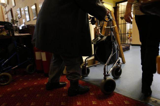 Care home visits have been suspended in Carmarthenshire. Picture: Jonathan Brady/PA Wire
