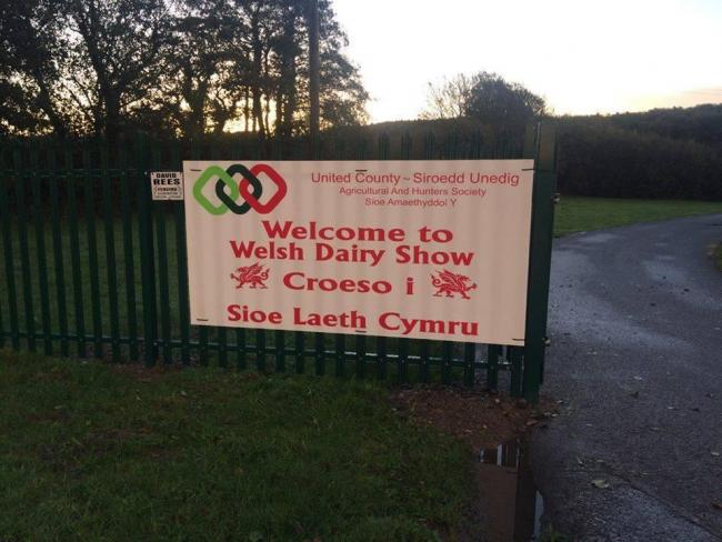 Organisers of the Welsh Dairy Show, on the United Counties Showground, have cancelled this year's event
