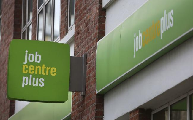 Job Centre Plus. Picture: Philip Toscano/PA Wire