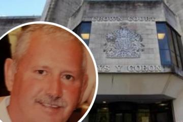 Husband 'burned body of wife's lover after killing him', court told