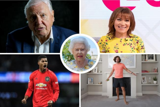 Queen's Birthday Honours 2020: These are the celebrities on this year's list. Pictures: PA Wire/ITV/YouTube