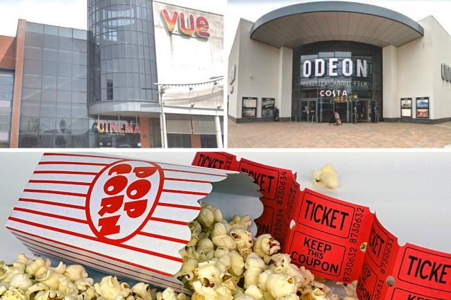 Vue and Odeon cinemas to be open part-time after fall in audience figures
