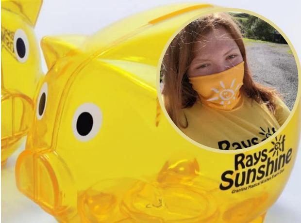 Sophie Washington is raising money for Rays of Sunshine