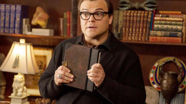 South Wales Guardian: Jack Black plays R.L. Stine in this imagining of what would happen if all of the Goosebumps books came alive at once! Credit: Columbia Pictures