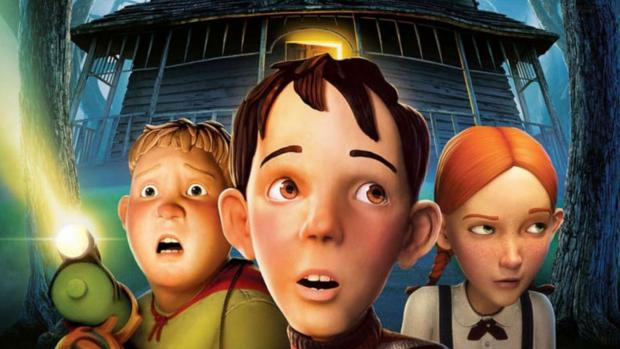 South Wales Guardian: Three kids must destroy a house, at first just seems creepy, but it's actually alive! Credit: Columbia Pictures
