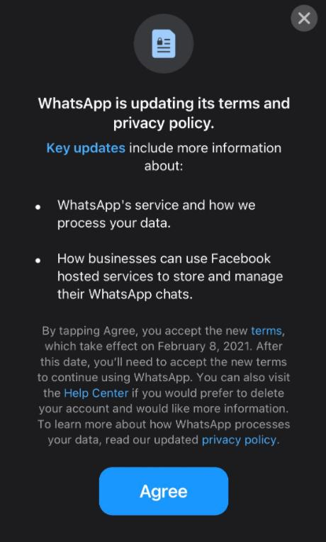 South Wales Guardian: WhatsApp is updating its terms and privacy policy.