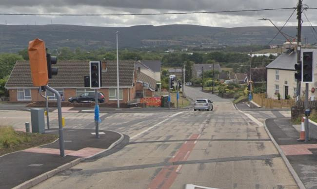 Police are looking for witnesses to a crash on Capel Hendre square