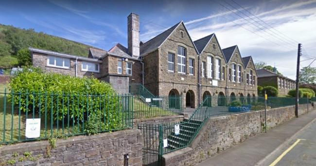 Godre'rgraig Primary School [Google Maps, available for LDRS]