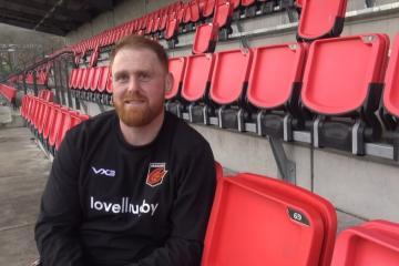 Dan Baker relishing his return to Wales