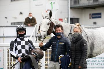Sean toasts Ffos Las treble, with wins for his father and Rebecca Curtis