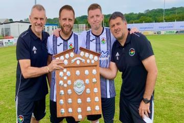 Ammanford AFC reserves finally lift shield
