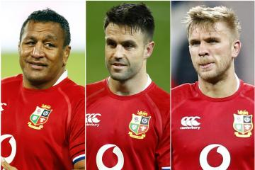 Lions bring in Conor Murray, Chris Harris and Mako Vunipola for second Test