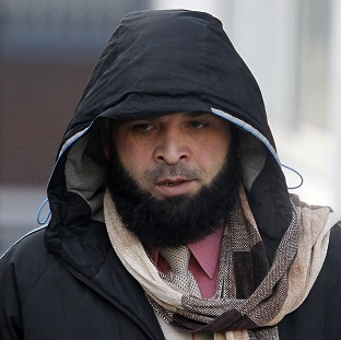 Abdul Rauf is accused, along with 10 other men, of exploiting five under-age girls for sex