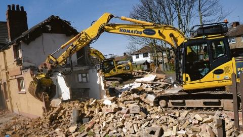 Llandeilo property owners forced to demolish a house