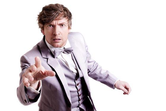COMEDIAN: Rhys Darby will appear at Swansea Grand Theatre in July.
