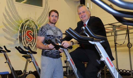 Rugby ace Shane Williams opens health and fitnes