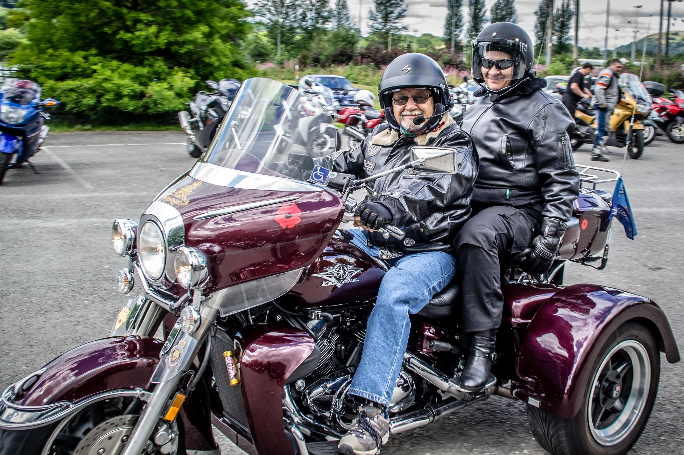 Bikers ride out to support charity