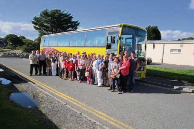 LLANDOVERY and District Independent Group, as well as other friends from Llandeilo area, went on an outing to St Fagan museum on Sunday, August 18.The highlight of the tour was a service held by the minister Rev Gerwyn Jones in Penrhiw chapel which was or